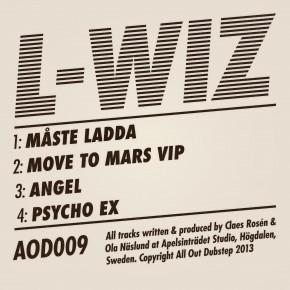 L-Wiz - Ladda EP ( AOD 009 )